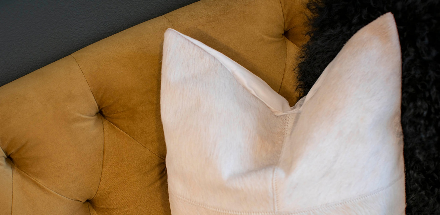 decorative pillows on couch